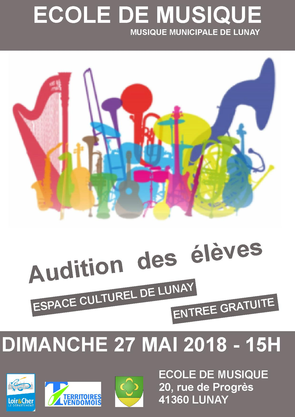 Audition 2018