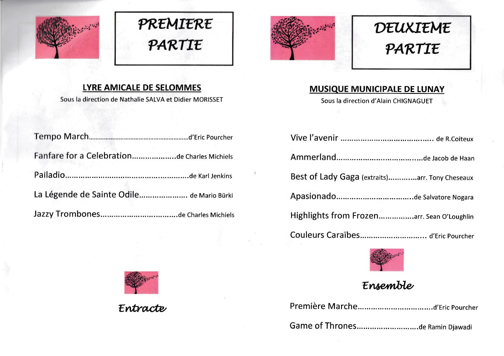 Programme selommes